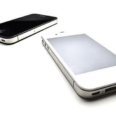 iPhone ホワイト ブラック